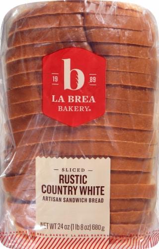 La Brea Bakery Rustic Country White Artisan Sandwich Bread Perspective: front