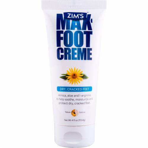 Zim's Max Foot Creme Perspective: front