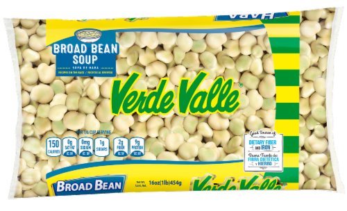 Verde Valle Dry Broad Beans Perspective: front