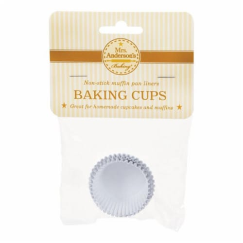 Mrs. Anderson's Foil Baking Cups Perspective: front
