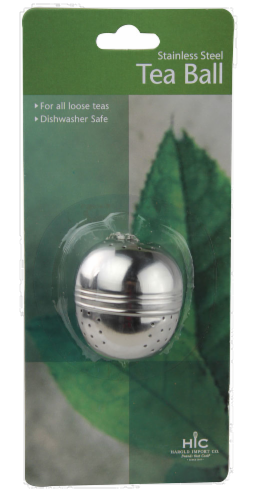 HIC Stainless Steel Tea Ball - Silver Perspective: front
