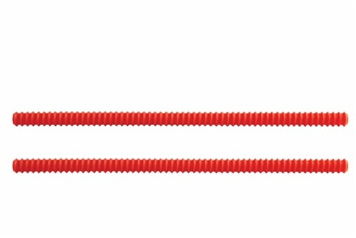 Harold Import Co. Oven Guards 2 Pack - Red Perspective: front