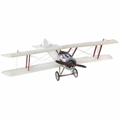 Authentic Models AP502T Large Transparent Sopwith Camel Model Perspective: front