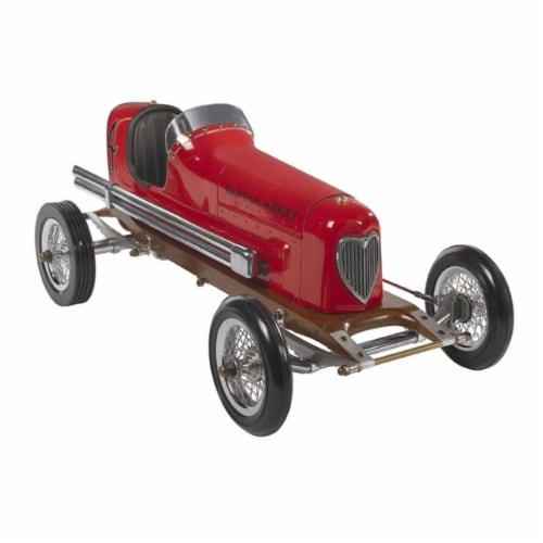 Authentic Models PC012 Bantam Midget  Red Perspective: front