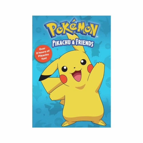 Pokemon Pikachu & Friends (DVD) Perspective: front