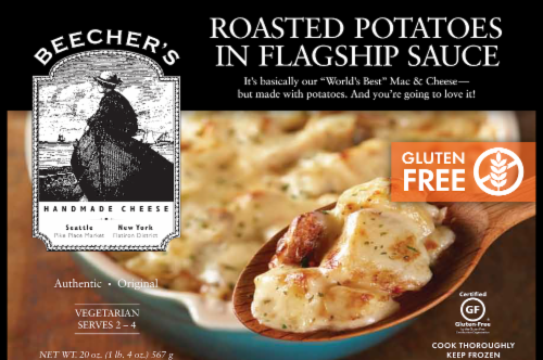 Beecher's Roasted Potatoes in Flagship Sauce Perspective: front