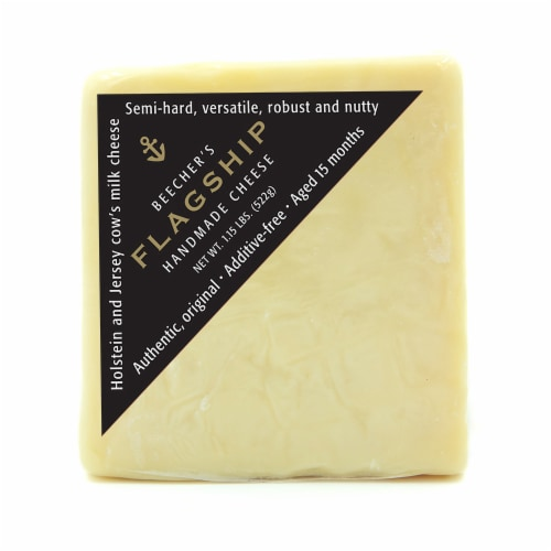 Beecher's Flagship Handmade Cheese Perspective: front
