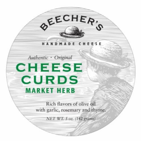 Beecher's Original Market Herb Cheese Curds Perspective: front