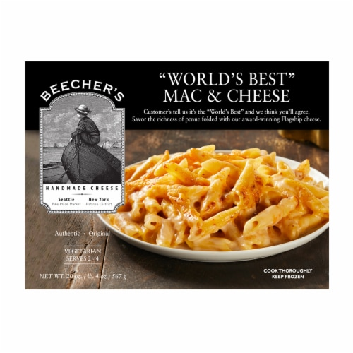 Beecher's World's Best Mac & Cheese Frozen Meal Perspective: front