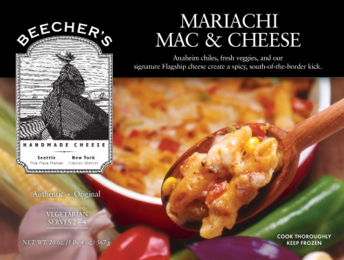 Beecher's Mariachi Mac & Cheese Perspective: front