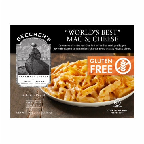 Beecher's Gluten Free Macaroni & Cheese Perspective: front