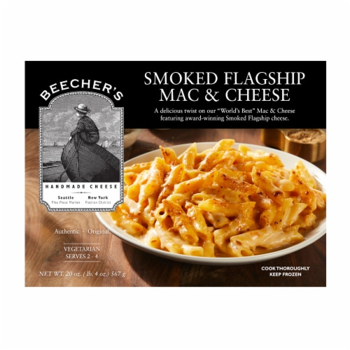 Beecher's Smoked Flagship Mac & Cheese Perspective: front