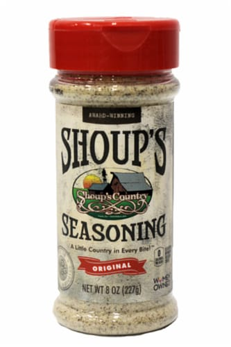 Shoup's Country Original Seasoning Perspective: front
