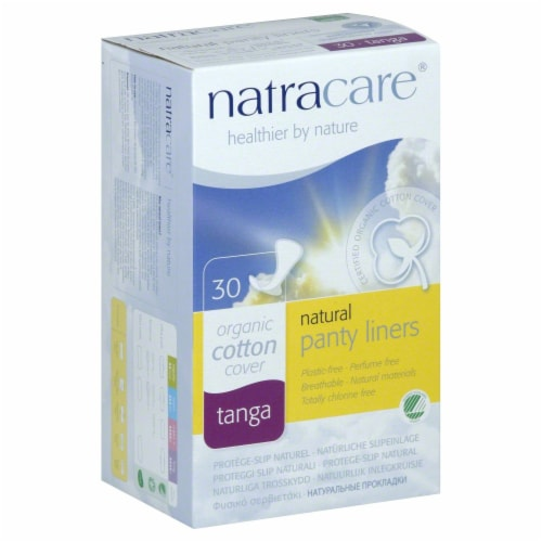 Natracare Panty Liner Tanga Perspective: front
