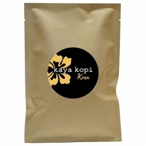 Premium Kaya Kopi Kona Mauna Loa Medium Roast Robusta Arabica Ground Coffee Beans 12oz Perspective: front