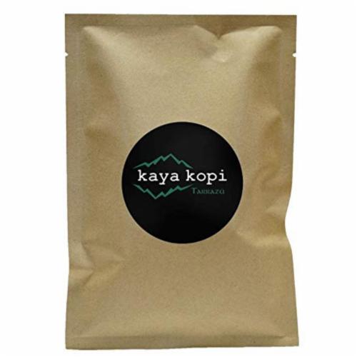 Premium Kaya Kopi Tarrazu Costa Rican Geisha Arabica Roasted Whole Coffee Beans 12 Oz Perspective: front