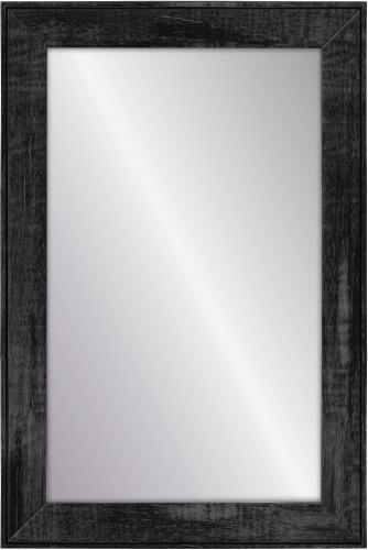 Elsa L Wall Mirror - Black Wash Perspective: front