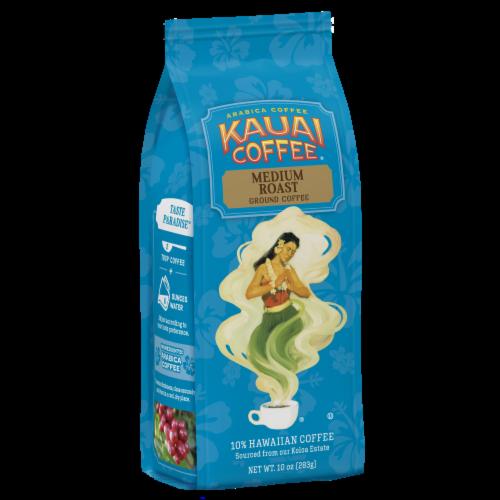 Kauai Coffee Koloa Estate Medium Roast Ground Coffee Perspective: front