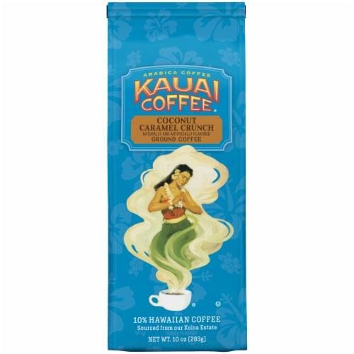Kauai Coffee Coconut Caramel Crunch Ground Coffee Perspective: front