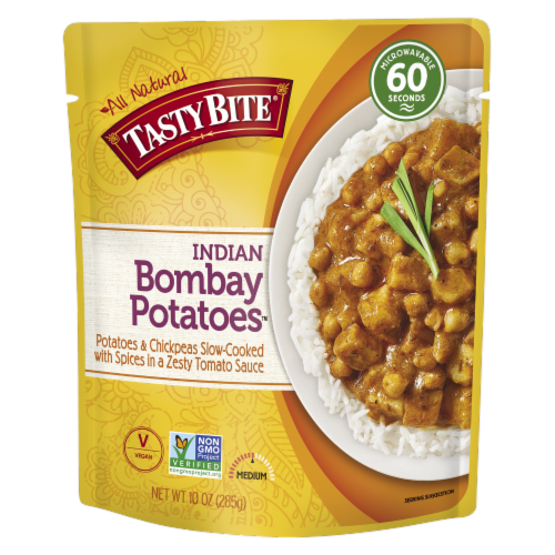 Tasty Bite Bombay Potatoes Perspective: front