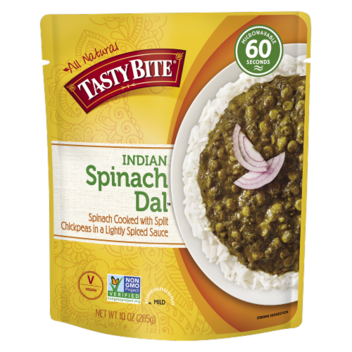 Tasty Bite Spinach Dal Perspective: front