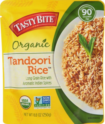 Tasty Bite Tandoori Rice Pilaf Perspective: front