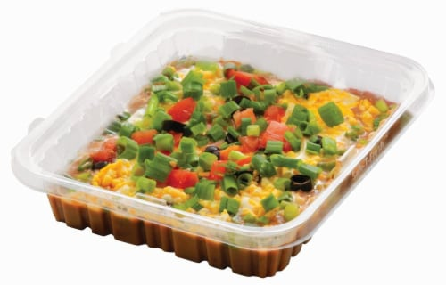 Fresh Kitchen Fiesta Dip Party Tray Perspective: front