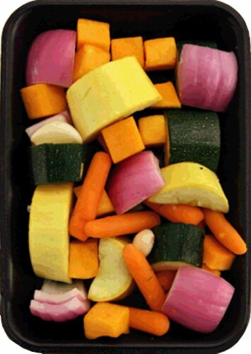Roasting Vegetables Perspective: front