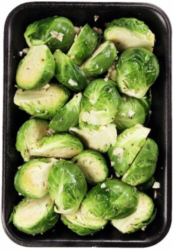 Taylor Farms Seasoned Brussel Sprouts Perspective: front