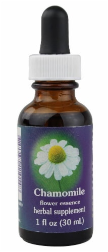 Flower Essence  Chamomile Dropper Perspective: front