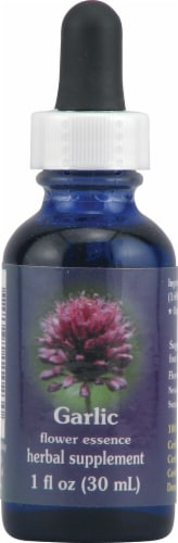 Flower Essence  FES Quintessentials™ Garlic Herbal Supplement Drops Perspective: front