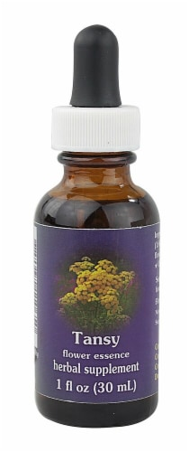 Flower Essence  Tansy Flower Essence Perspective: front