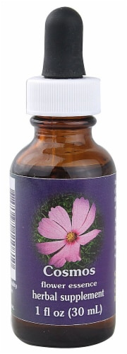 Flower Essence  Cosmos Dropper Perspective: front