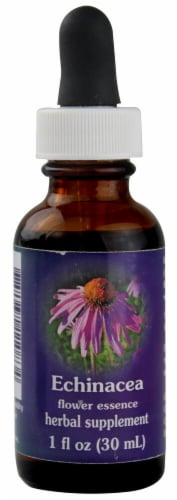 Flower Essence  Echinacea Herbal Supplement Perspective: front