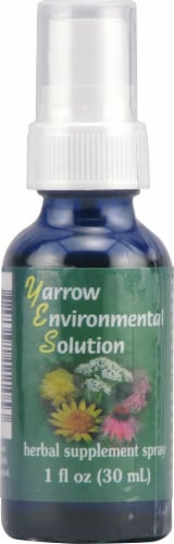 Flower Essence  FES Quintessentials™ Yarrow Environmental Solution Spray Perspective: front