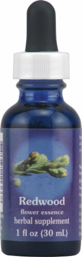 Flower Essence  Redwood Liquid Supplement Perspective: front