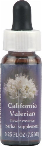 Flower Essence  California Valerian Dropper Perspective: front