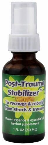 Flower Essence Post-Trauma Stabilizer Herbal Spray Perspective: front