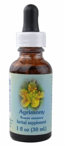 Flower Essence  Agrimony Herbal Supplement Perspective: front