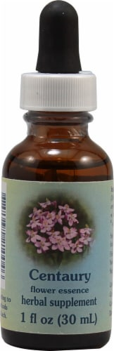 Flower Essence  Centaury Dropper Perspective: front