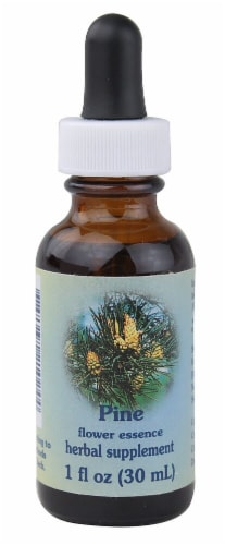 Flower Essence  Pine Herbal Supplement Perspective: front
