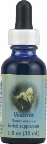 Flower Essence  Healing Herbs® Walnut Dropper Perspective: front