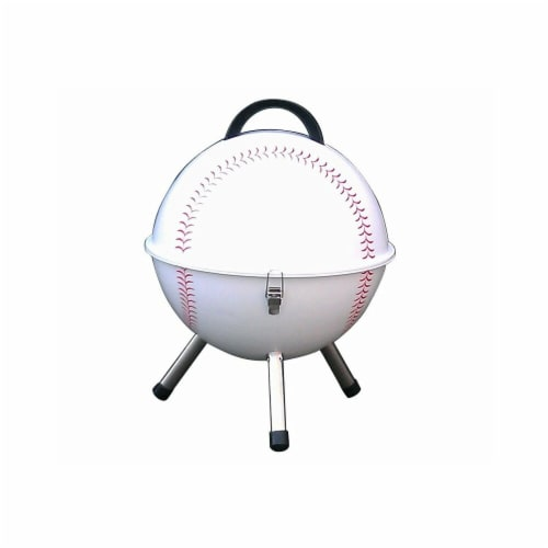 Keg-a-Que 10002 Charcoal Baseball Grill Perspective: front