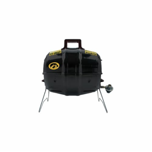 Keg-a-Que 10121 Official Iowa Hawkeyes Grill Perspective: front