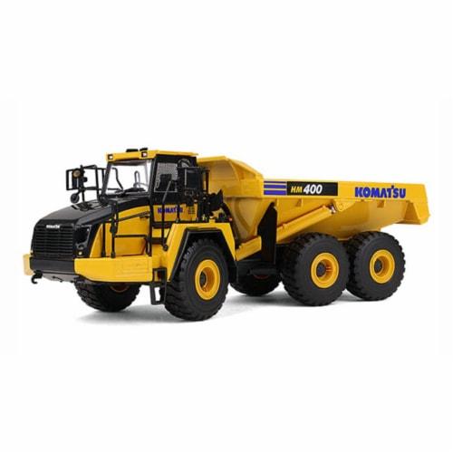 First Gear 50-3347 Komatsu HM400-5 Articulated Dump Truck Perspective: front