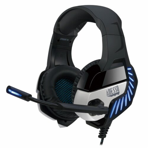 Adesso Xtream G4 Virtual 7.1 Surround Sound Gaming Headset Perspective: front