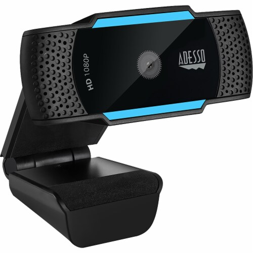 Adesso CyberTrack H5 1080P Webcam Perspective: front