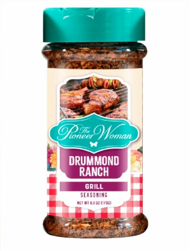 The Pioneer Woman Drummond Ranch Grill Seasoning Perspective: front