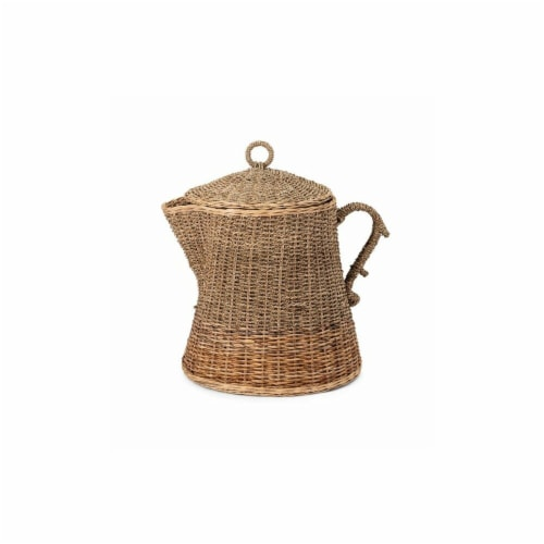IMAX Trisha Yearwood Coffee Talk Oversized Coffee Pot Basket Perspective: front
