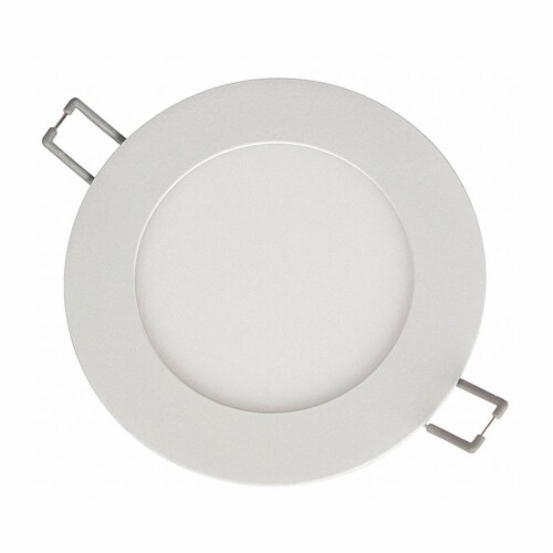 Lightolier LED Recessed Down Light,6-5/8  L,900 lm  FD6R4CCT Perspective: front